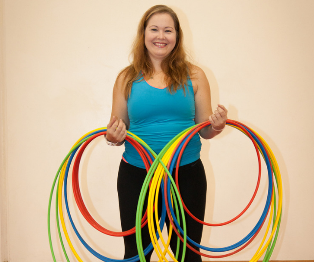 Leah Chandler from Kids Fit Australia, loves teaching kids and families how to keep fit for everyday life, which includes her own family of 5!  *Image: Supplied.*