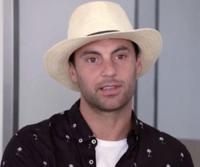 """""""Cam, we love you but Australia says no to that fedora!"""" - @AKREVZ we couldn't have said it better ourselves. *(Image: Channel Nine)*"""