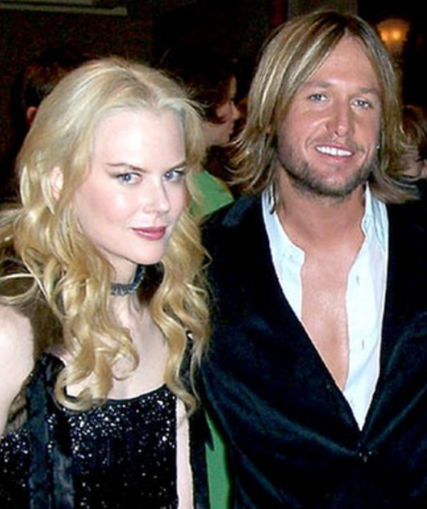 """""""Our very first photo together 2005, minutes after being introduced to each other."""" *(Image: Instagram @keithurban)*"""