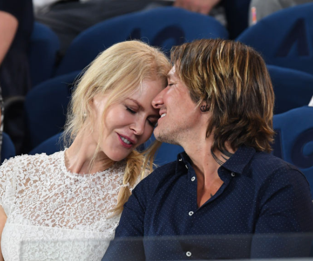 The couple, pictured her at the 2019 Australian Open, fell fast and hard for each other. *(Image: Getty Images)*