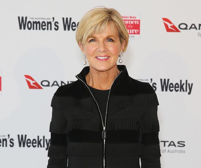 Julie Bishop was the most senior female politician in Australia. *(Image: Getty)*