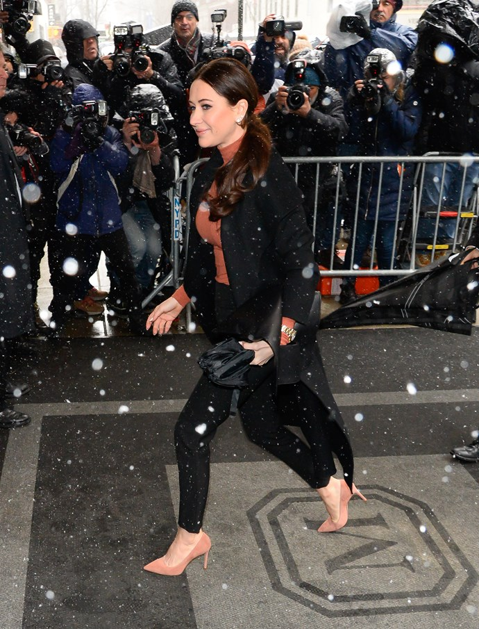 Stylist Jessica Mulroney was a event planner for the lavish do. *(Image: Getty)*