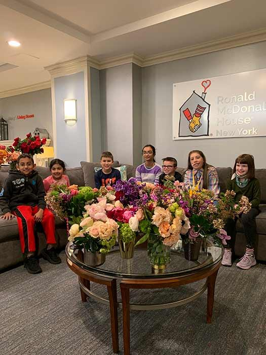 Ronald McDonald House was one of the charities to receive the flowers made at Meghan's event. *(Image: Repeat Roses)*