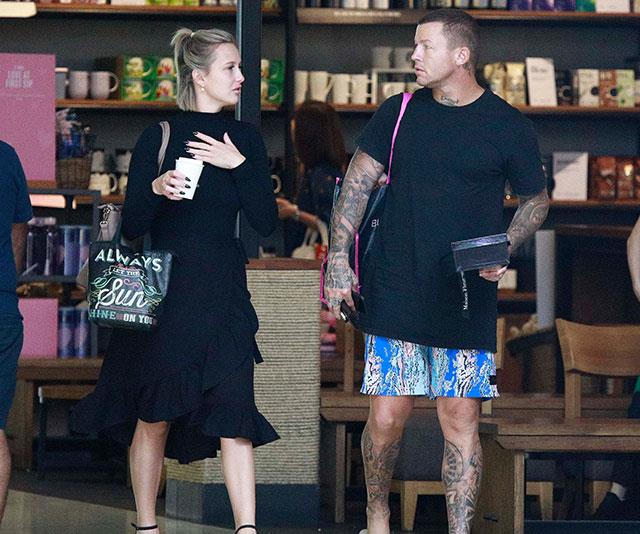 Intruder Susie and Todd Carney looking cosy. *(Image: Exclusive to Diimex)*