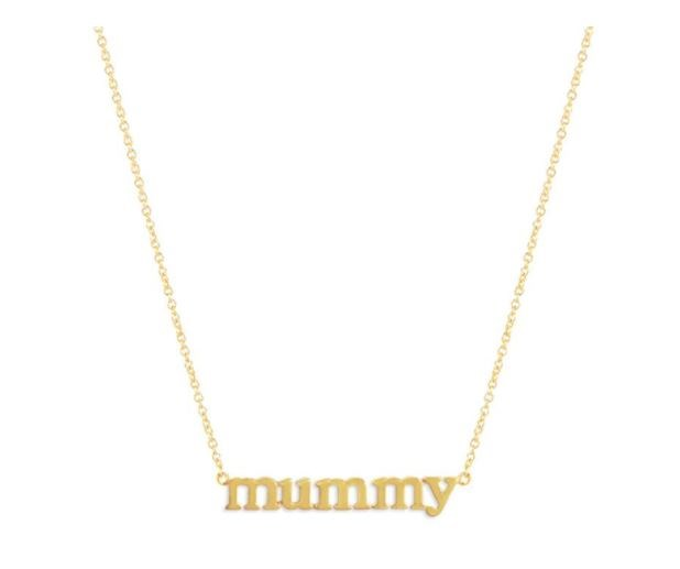The same necklace with the Australian/British spelling. *(Image: Jennifer Myer)*