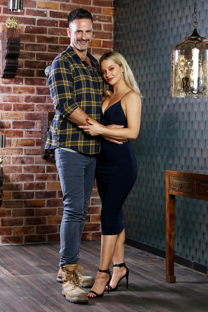 Mick and Jessika are having relationship troubles (Image: Nine Network)