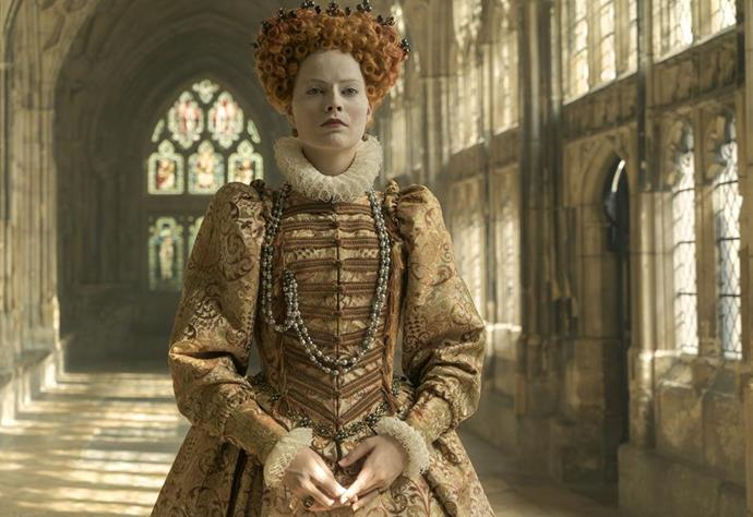 Mary Queen of Scots is nominated for Best Costume Design.