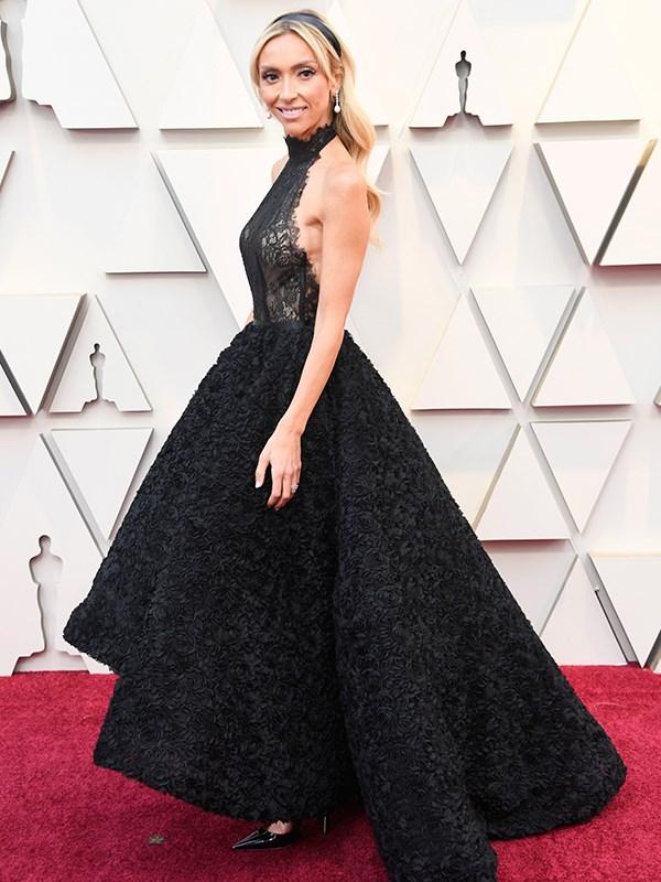 *E!*'s Giuliana Rancic is a vision in black!