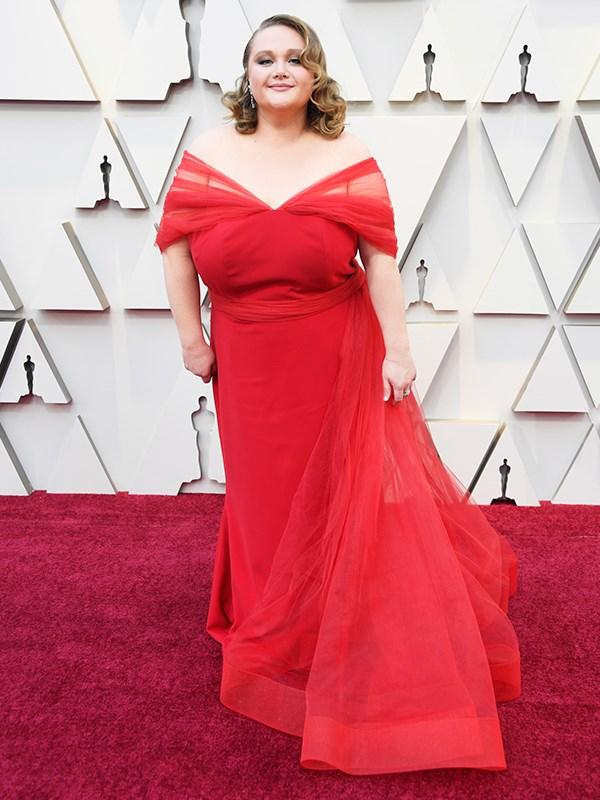 Aussie star of Netflix flick *Dumplin'* Danielle Macdonald has brought that old Hollywood glamour.