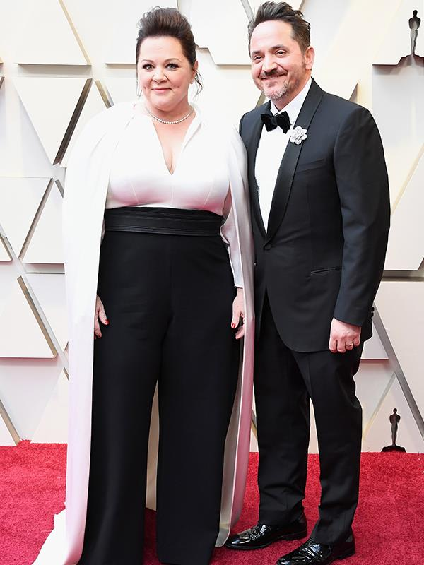 Cute! Joined by partner Ben Falcone, the comedic couple stole the show!