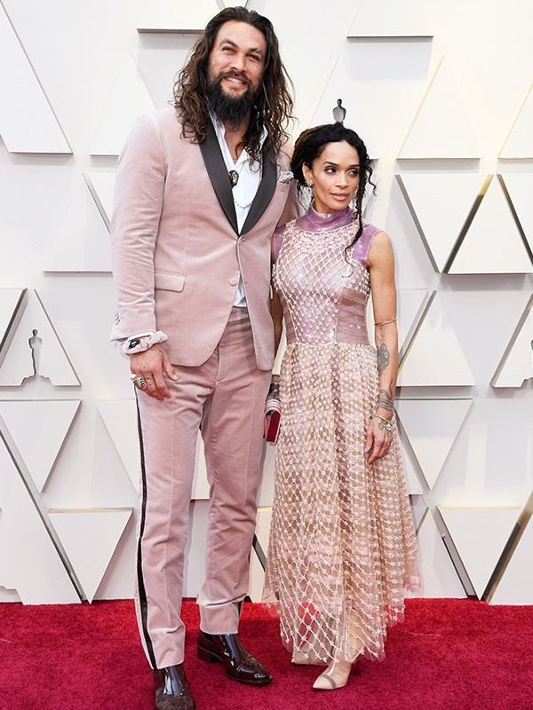 """*Game of Thrones* actor [Jason Momoa and actress Lisa Bonet](https://www.nowtolove.com.au/parenting/celebrity-families/jason-momoa-lisa-bonet-53580