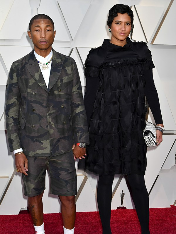 He's music to our ears, and Pharrell Williams and wife Helen Lasichanh are the image of cool, calm and collected.