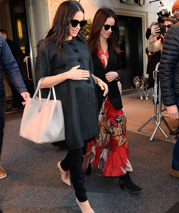 """NYC dreaming! Meghan stepped out in the city that never sleeps on February 19 to [celebrate her baby shower](https://www.nowtolove.com.au/royals/british-royal-family/meghan-markle-new-york-baby-shower-54231