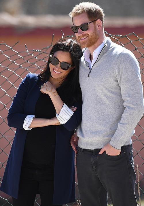 We couldn't help ourselves! How cute do these two look only weeks away from becoming a family of three? *(Image: Getty Images)*