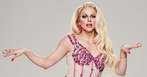 Dancing With The Stars Contestant Courtney Act On Her Drag Queen