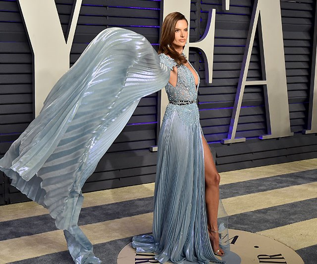 Once a supermodel, forever a supermodel. Right, Alessandra Ambrosio? *(Image: Getty)*