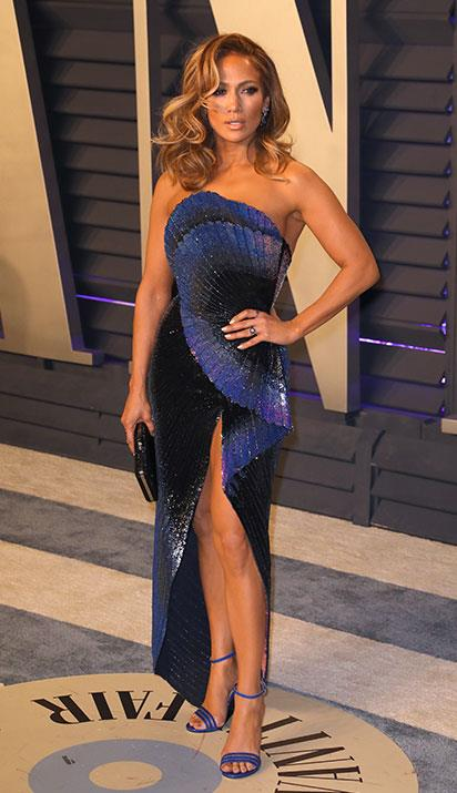 JLo's streak of red carpet perfection continues on. *(Image: Getty)*