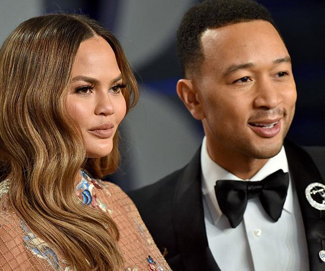 Chrissy Teigen and John Legend sure do scrub up well. *(Image: Getty)*