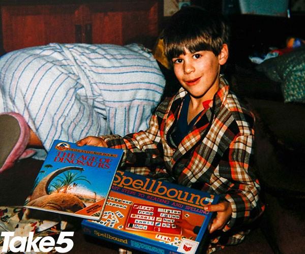 Me as a boy.