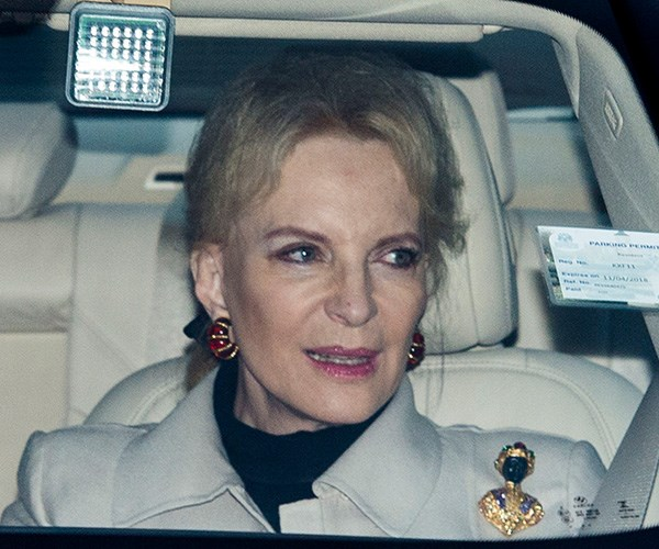 Princess Michael's brooch made headlines in 2017. *(Image: Getty)*