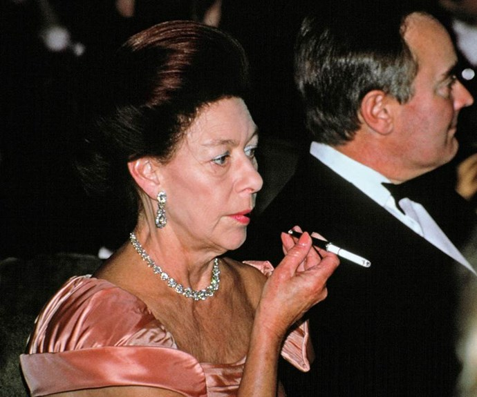Princess Margaret was a pack-a-day smoker since the age of 15. *(Image: Getty Images)*