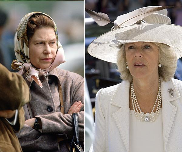 "The Queen used to describe Camilla as ""that wicked woman"". *(Images: Getty Images)*"