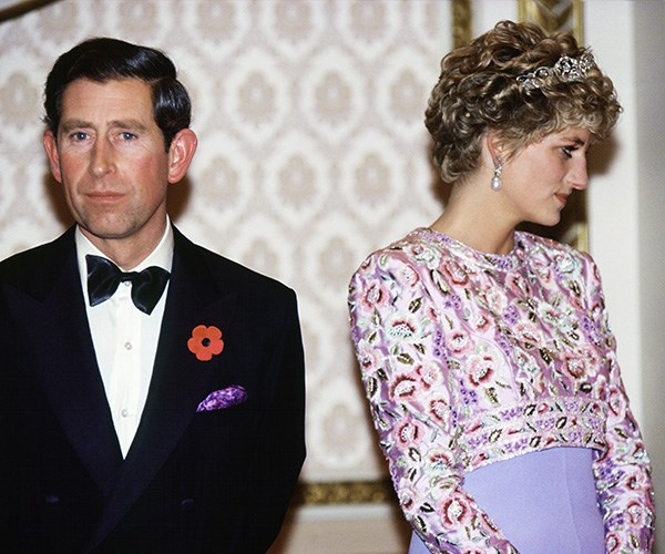 Charles and Diana during their last official trip together. *(Image: Getty)*