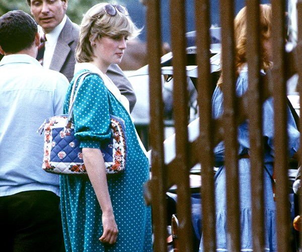 Diana confessed to self-harming during her pregnancy with Prince William. *(Image: Getty Images)*