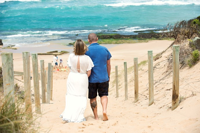 Toadie and Sonya plan a trip to the beach to 'get away.'