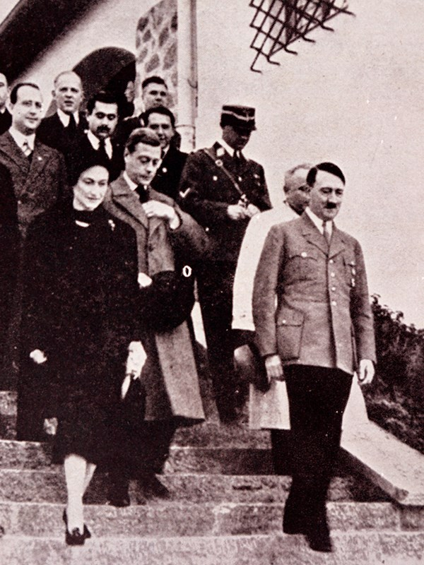 Edward and Wallis were close with Adolf Hitler. *(Image: Getty)*