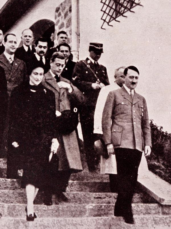 Edward and Wallis were close with Adolf Hitler. *(Image: Getty Images)*
