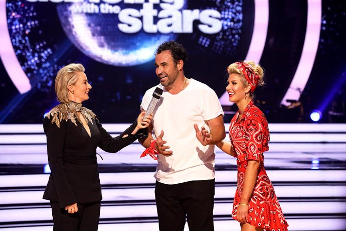 The judges weren't kind to Miguel. *(Image: Channel 10)*