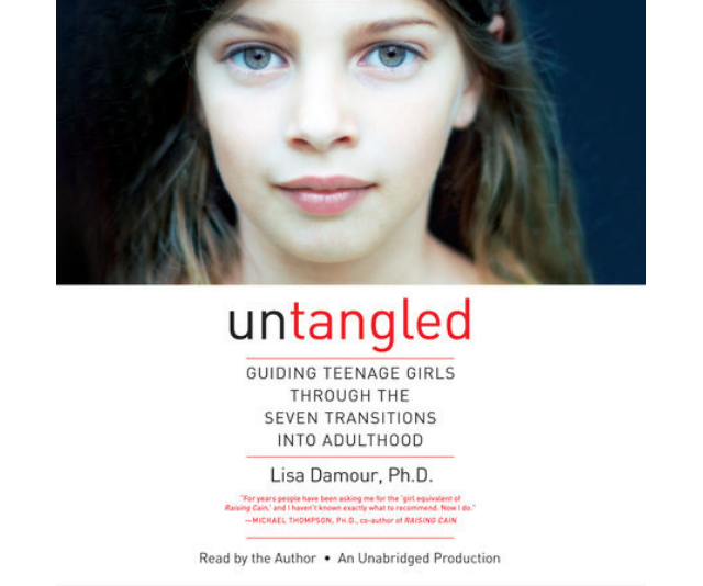 ***Untangled* - Lisa Damour:** In this *New York Time*s best seller, Dr. Damour draws on decades of experience and the latest research to reveal the seven distinct - and absolutely normal - developmental transitions that turn girls into grown-ups, including Parting with Childhood, Contending with Adult Authority, Entering the Romantic World, and Caring for Herself. Providing realistic scenarios and welcome advice on how to engage daughters in smart, constructive ways, *Untangled* gives parents a broad framework for understanding their daughters while addressing their most common questions.