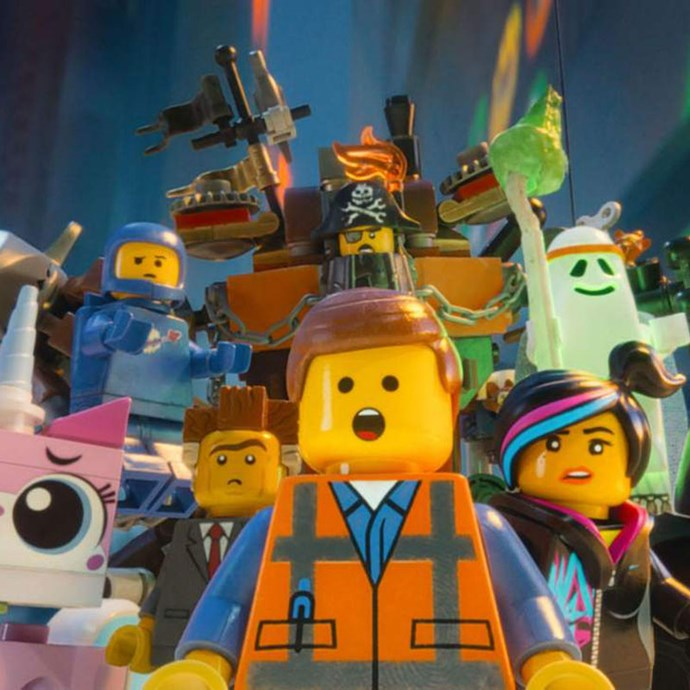 **The LEGO Movie 2: The Second Part** *(in cinemas March 21)* A sequel to the 2014 original, we return to Bricksburg and discover Emmet (Chris Pratt), Batman (Will Arnett) and their LEGO pals must protect their home from out-of-this-world invaders. Can they save their beloved city?   *(Image: Warner Bros. Pictures)*