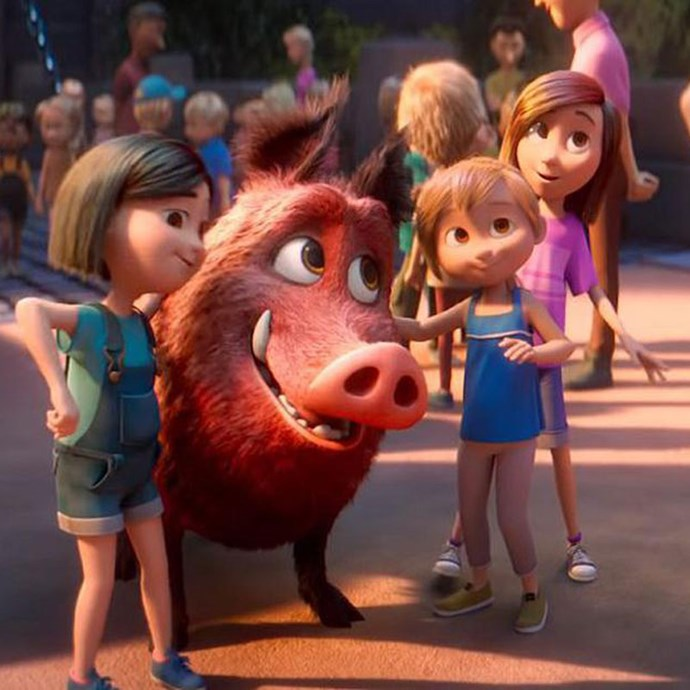 **Wonder Park** *(in cinemas April 4)* As a child, June (Brianna Denski) imagined an amusement park filled with amazing rides and talking animals. When her mum (Jennifer Garner) dies, June loses her sense of imagination - until she discovers her real-life Wonderland.    *(Image: Paramount Pictures)*