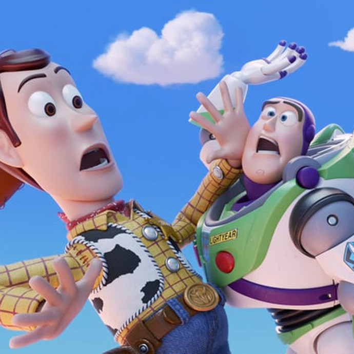 **Toy Story 4** *(in cinemas June 20)* Woody (Tom Hanks), Buzz (Tim Allen) and their fellow toy buddies are on a mission to track down Woody's romantic interest, Bo Peep (Annie Potts).  *(Image: Disney/ Pixar)*