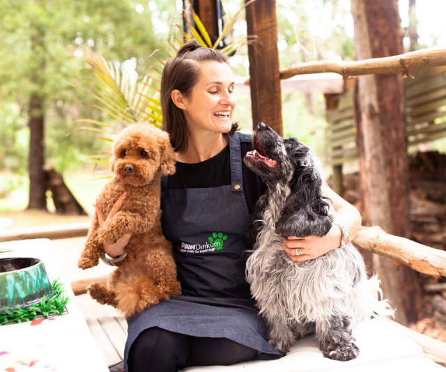 Fiona Rigg is the founder of PAWDinkum. *Image: Supplied.*