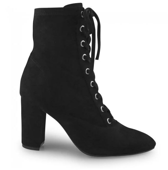 """Shiloh Black Suede Lace Up boots, [available from Wittner](https://www.wittner.com.au/shiloh-ankle-boot-black.html