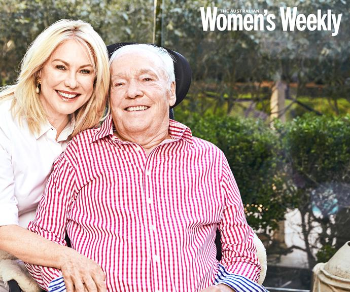 An unbreakable bond: KAK and John were one of the nation's most celebrated couples. *(Image: Peter Brew-Bevan, exclusive to The Weekly)*