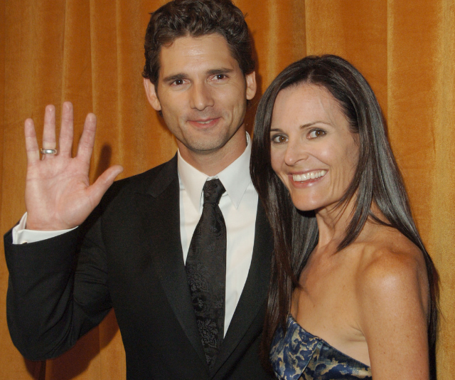 Eric and Rebecca Bana have shared a 24-year love story. (*Image: Getty.*)
