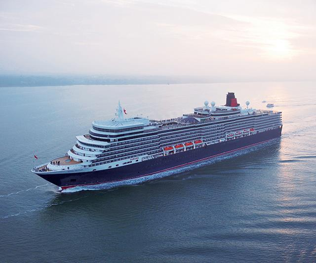 She's a big 'un! It's very easy to get lost on Cunard's Queen Elizabeth. *(Image: Supplied)*
