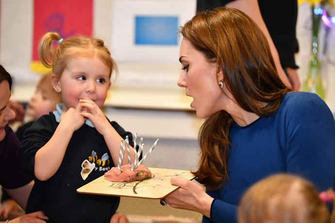 She's such a natural with kids! *(Image: Getty)*