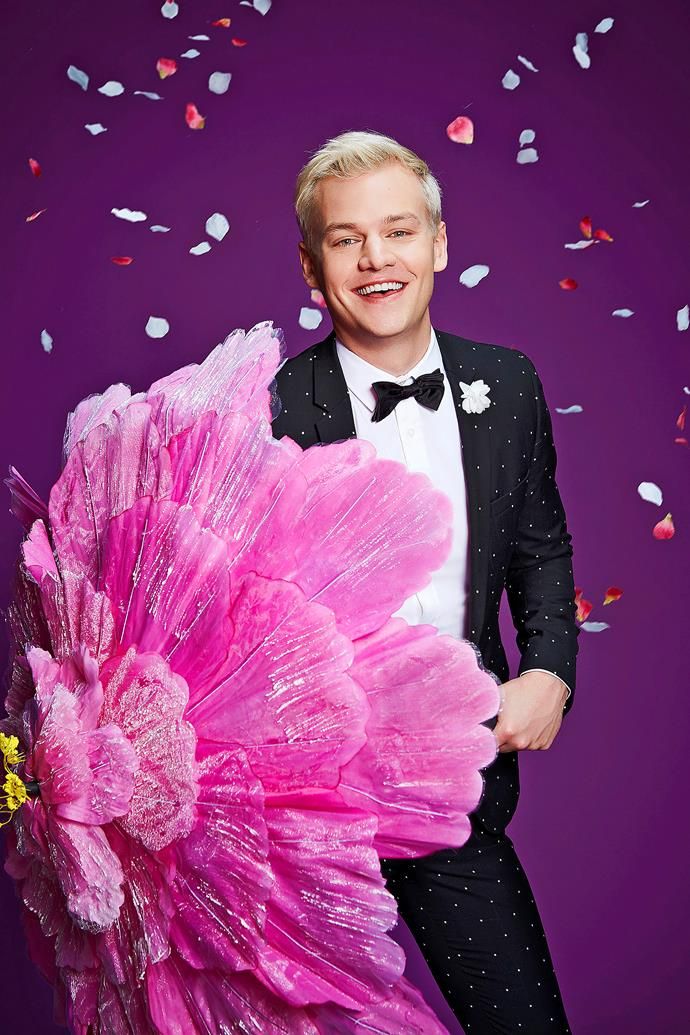 Host Joel Creasey is excited to be back.