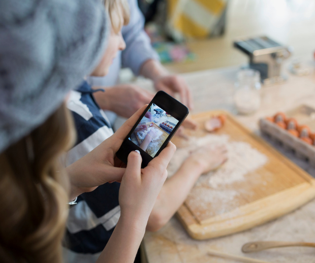 **Film a reality show:** Got a budding dance star, or inventor, or a mini-MasterChef? Why not use a phone or tablet to create your own reality television show? From scripting, to set design, filming and editing, this is a super fun activity you can keep adding to over the whole holiday break. *Image: Getty.*