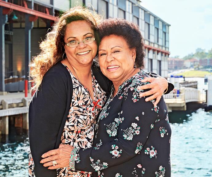 Noelene Lever, right, is a 78-year-old foster mother. *(Image: Woman's Day)*