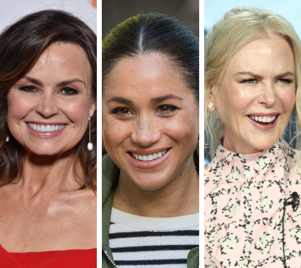 Some of our favourite power women - Lisa Wilkinson, Duchess Meghan and Nicole Kidman. *(Images: Getty)*