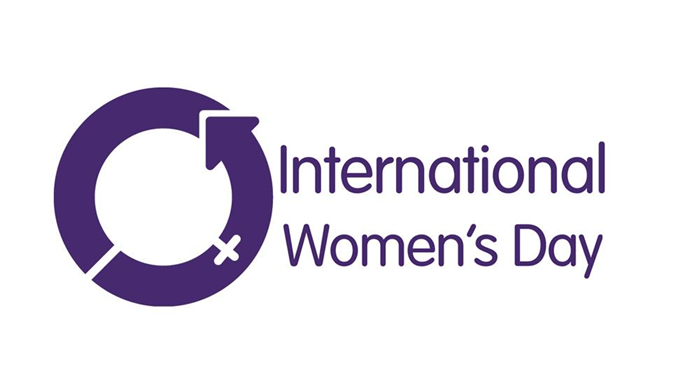 The logo for International Women's Day. *(Image: Supplied)*