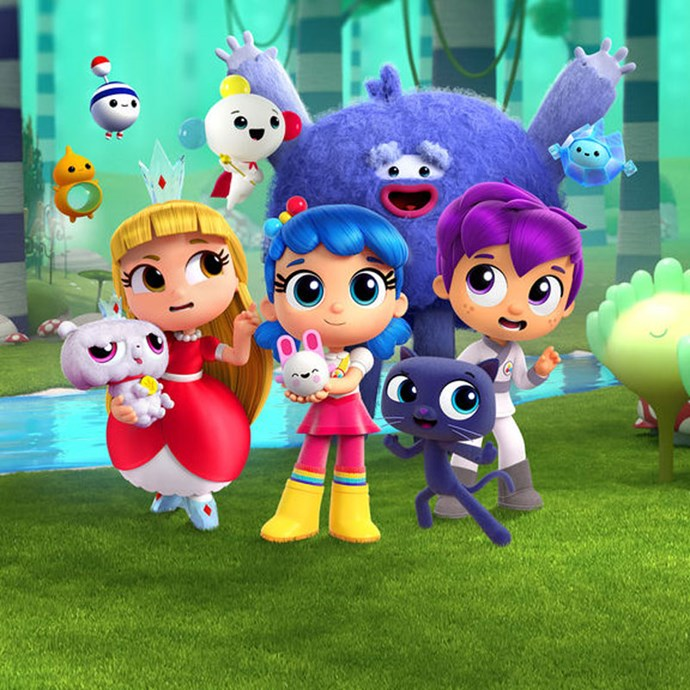 **True and the Rainbow Kingdom** *(TV series)* Rainbow Kingdom's True and her bestie Bartleby, grant wishes and help save the day.  *Image: Netflix*