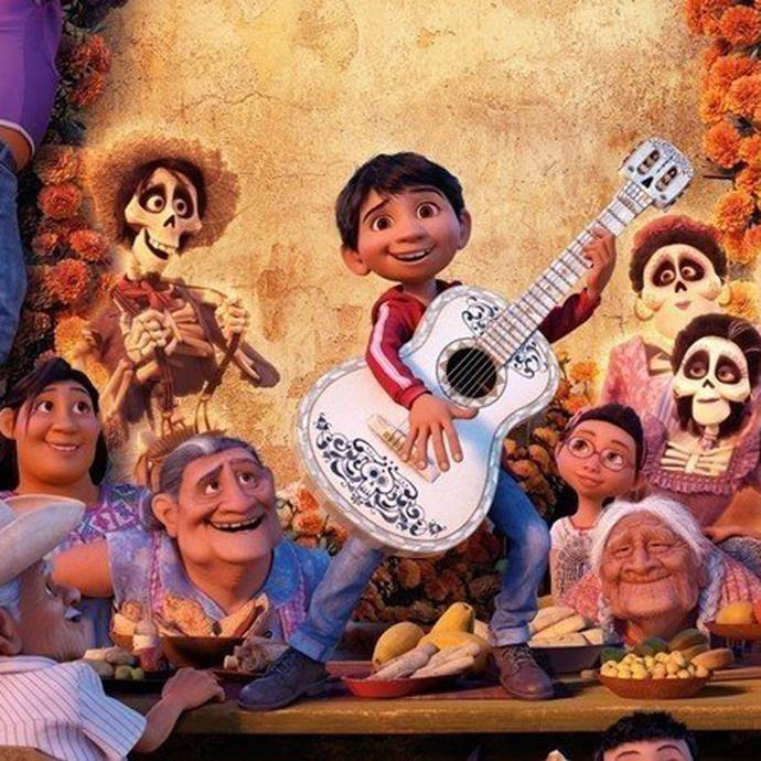 **Coco** Inspired by the Mexican custom of Los Dias de los Muertos (The Day of the Dead festival), when Miguel gets trapped in the Land of the Dead he sets of with his ancestors to uncover a family secret. This flick won two Academy Awards. *Image: Disney/Pixar*