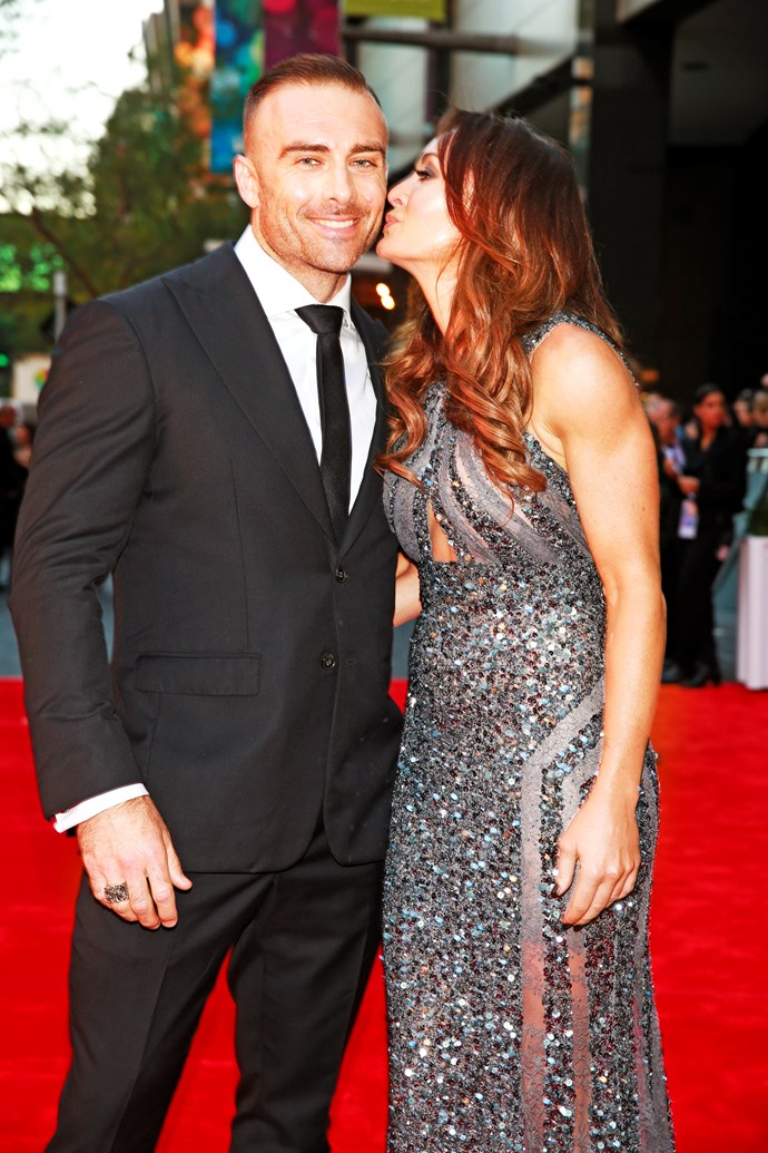Steve and Michelle at the TV WEEK Logie Awards.